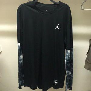 90cf928e65a Jordan Shirts | Euc Nike Air Clouded Nightmares Shirt | Poshmark